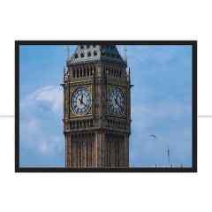 Quadro Big Ben - Detalhe por Ramatis