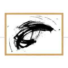 Quadro Black Stain I por Juliana Bogo