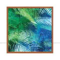 Quadro Blue Leaf FULL Q II por Joel Santos