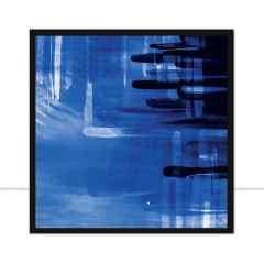 Quadro Blur Blue II por Joel Santos