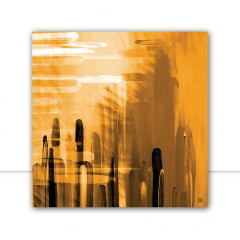 Quadro Blur Yellow I por Joel Santos