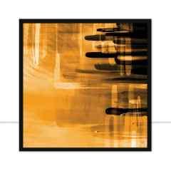 Quadro Blur Yellow II por Joel Santos