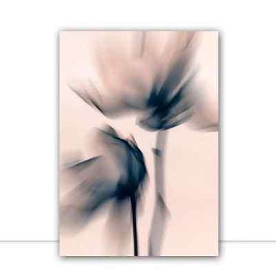 Quadro Blurred Flowers II por Patricia Costa