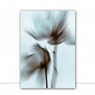 Quadro Blurred Flowers III por Patricia Costa