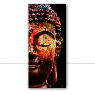 Quadro Buddha Color Panorâmico por Joel Santos