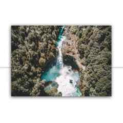 Quadro Cachoeira ao arco-íris por Patricia Schussel Gomes