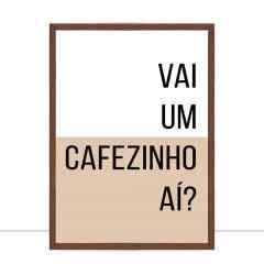 Quadro Cafezinho por Larissa Ferreira