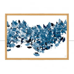 Quadro Chic and blue II por Isadora Fabrini