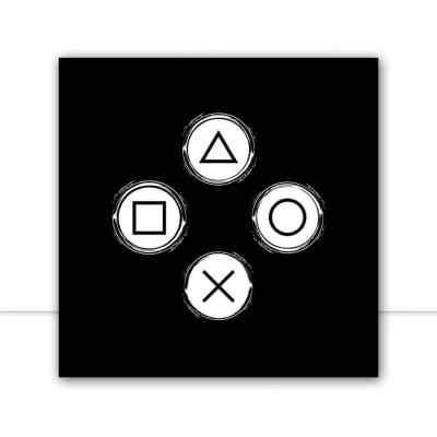 Quadro Control Black por Fer Harbs