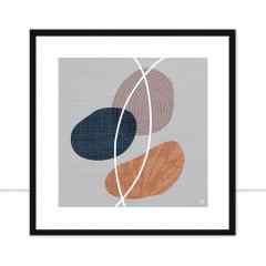 Quadro Delicate Abstract Q II por Joel Santos