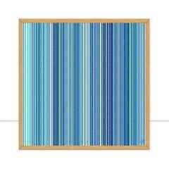 Quadro Fine Line Blue I por Isadora Fabrini