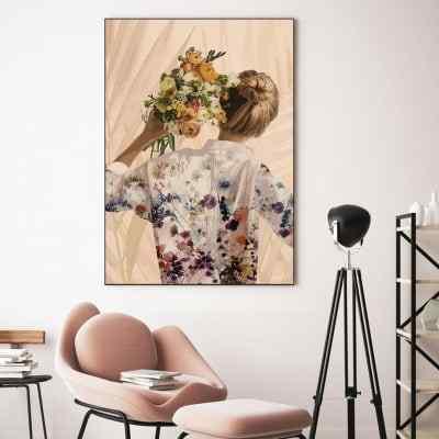 Quadro Flower New Clean II por Joel Santos