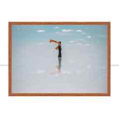 Quadro Flutuando em Uyuni por Patricia Schussel Gomes