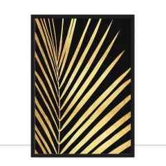 Quadro Folha dourada V  por Vitor Costa