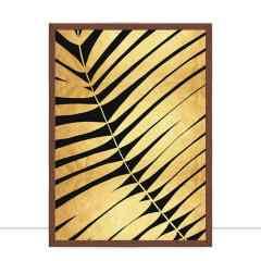 Quadro Folha dourada VI por Vitor Costa