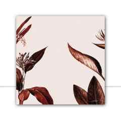 Quadro Foliage Sepia I por Joel Santos