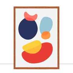 Quadro Formas Abstratas X por Vitor Costa