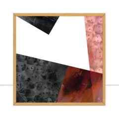 Quadro Geo Texture II por Joel Santos
