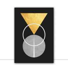 Quadro Geometria Moderna II por Vitor Costa