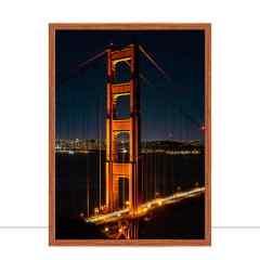 Quadro Golden Gate Bridge de perto por Tiago Ignowski