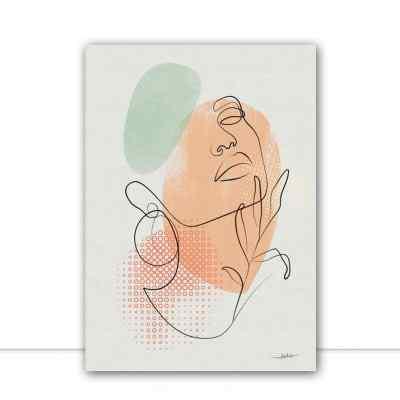 Quadro Graphic Woman II por Joel Santos