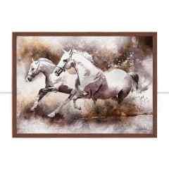 Quadro Horse Aquarela II por Joel Santos