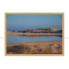 Quadro Lago deserto I por Mafe Romero