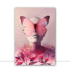 Quadro Lilac Woman por Joel Santos