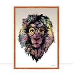 Quadro Lion Clean por Joel Santos