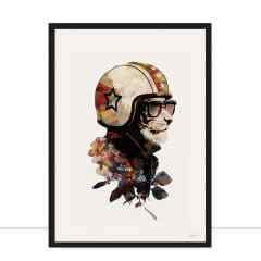 Quadro Lion Motocycle por Joel Santos