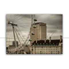 Quadro London View Color por Felipe Hoffmann