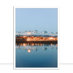 Quadro Luz e gelo por Patricia Schussel Gomes
