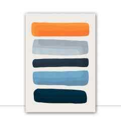 Quadro Manchas abstratas III por Vitor Costa