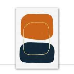 Quadro Manchas abstratas IX por Vitor Costa