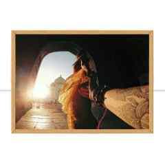 Quadro Me leva pra índia por Patricia Schussel Gomes