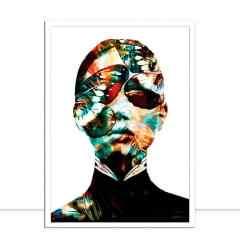 Quadro Metalic Woman Colours I por Joel Santos