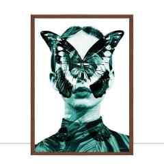 Quadro Metalic Woman II por Joel Santos