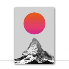 Quadro Montanha e sol por Vitor Costa