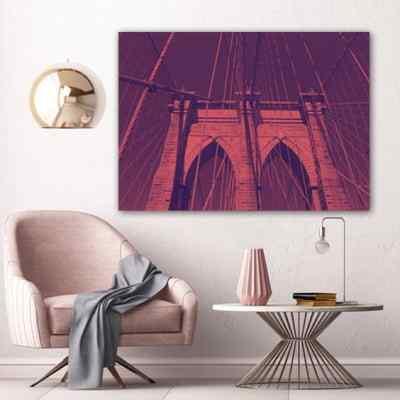 Quadro NY State of mind por Bibiana Lima