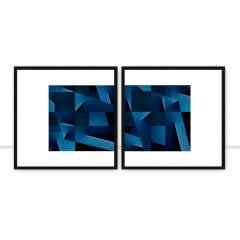 Quadro Overlapping directions I e II por Joel Santos
