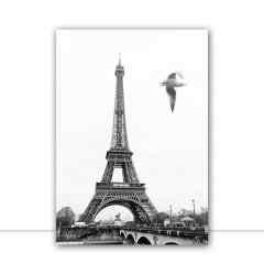 Quadro Paris por Crônicas na Bagagem