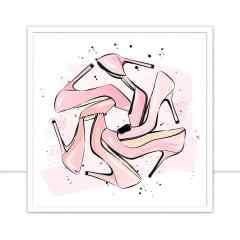 Quadro Pink Heels por Martina Pavlova