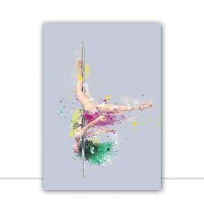 Quadro Pole Splash 2 por Thamy Louise Secco