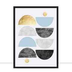 Quadro Polígonos I por Vitor Costa