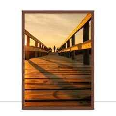 Quadro Pôr do sol no pier Marcelo Baldin & Sâmia Munaretti