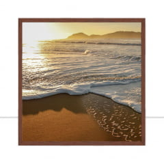 Quadro Praia por Marcelo Baldin & Sâmia Munaretti
