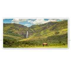 Quadro Serra da canastra cachoeira Casca Danta 2 por Pignata