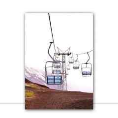 Quadro Teleférico Vertical por Paty Pilonetto