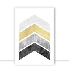 Quadro Texturas geométricas IX por Vitor Costa