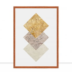 Quadro Texturas geométricas VI por Vitor Costa